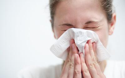 Współczesny portal dla alergików